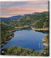 Lake Sonoma - California Acrylic Print