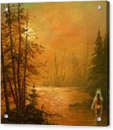 Lake Spirit Acrylic Print
