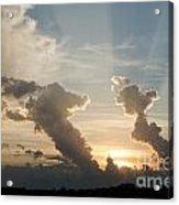 Lake Sunset 10 Acrylic Print