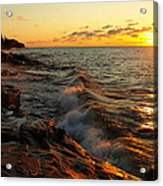 Lake Superior Dawn Acrylic Print
