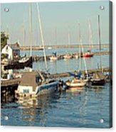 View Of The Harbor Acrylic Print