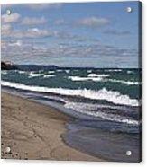Lake Superior Shoreline Acrylic Print