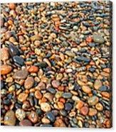 Lake Superior Stones 1 Acrylic Print