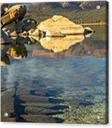Lake Tahoe Clarity Acrylic Print