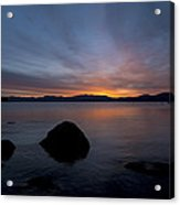Lake Tahoe Dawn Acrylic Print