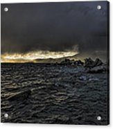Lake Tahoe Drama Acrylic Print