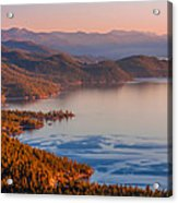 Lake Tahoe East Shore Acrylic Print