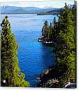 Lake Tahoe From The Rubicon Trail Acrylic Print