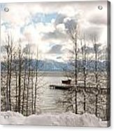 Lake Tahoe In Winter Acrylic Print by Denice Breaux