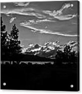 Lake Tahoe Just After Sunset Acrylic Print