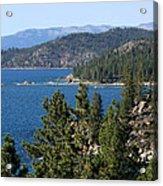 Lake Tahoe Nevada Acrylic Print by Aidan Moran