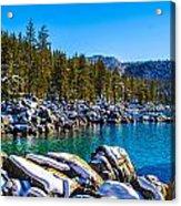 Lake Tahoe Winter Acrylic Print