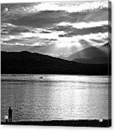 Lake Te Anau Acrylic Print
