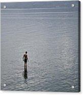 Lake Toba Acrylic Print