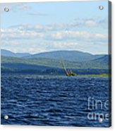 Lake Umbagog Choppy Waters Acrylic Print