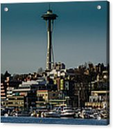 Lake Union Seattle Skyline Acrylic Print