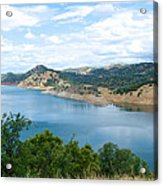 Lake View From Hwy 120 Rest Area Going Into Yosemite Np-ca- 2013 Acrylic Print