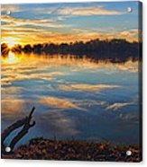 Memorial Park Sunset Acrylic Print