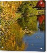 Lake Winona Autumn 13 Acrylic Print