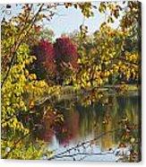 Lake Winona Autumn 15 Acrylic Print
