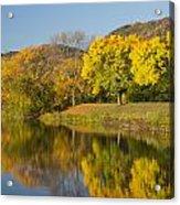 Lake Winona Autumn 8 Acrylic Print
