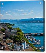 Lake Zurich Acrylic Print