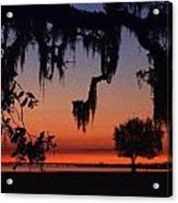 Lakefront Sunset Acrylic Print