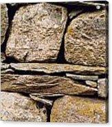 Lakeland Stone Acrylic Print