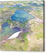 Lakes From The Seaplane In Katmai National Preserve-alaska Acrylic Print