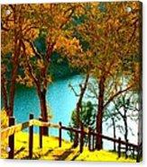 Lakeshore Lane Acrylic Print