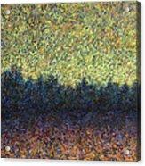 Lakeshore Sunset Acrylic Print