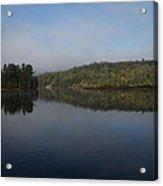 Lakeside Cottage Living - Gentle Morning Fog Acrylic Print