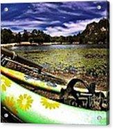 Lakeside Cruzzz Acrylic Print by Scott Allison