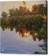 Lakeside Evening Acrylic Print
