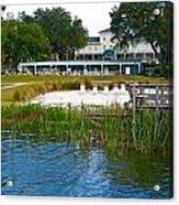 Lakeside Inn Acrylic Print
