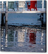 Lakeside Living Number 2 Acrylic Print