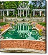Lakeside Park Wedding Pavilion II Acrylic Print by Gene Sherrill