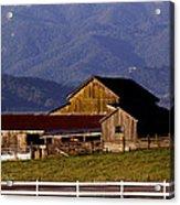 Lakeville Barn Acrylic Print