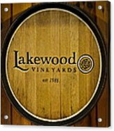 Lakewood Vineyards Acrylic Print