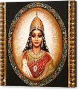 Lakshmi Goddess Of Abundance Acrylic Print