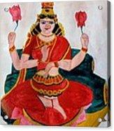 Lakshmi Acrylic Print by Pratyasha Nithin