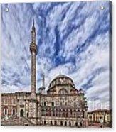 Laleli Tulip Mosque In Istanbul Acrylic Print