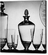 Lalique Glassware Acrylic Print