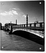 lambeth bridge over the river thames central London England UK Acrylic Print