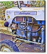 Lamborghini Classic Tractor Acrylic Print