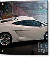 Lamborghini Gallardo Lp550-2 Side View Acrylic Print