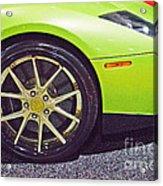 Lamborghini Verde  Acrylic Print