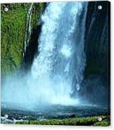 Lamolo Falls Bowl Acrylic Print