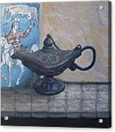 Lamp And Tile Acrylic Print