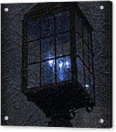 Lamp Post Blues Acrylic Print